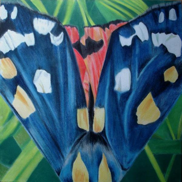 Essence of Iridescense - Scarlet Tiger Moth